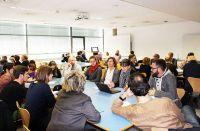 Teilnehmende des Workshops der Fachgruppe Qualitative Forschung