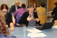 Dr. Marion Brüggemann berichtet über ihre Erfahrungen mit der Dokumentarischen Methode.